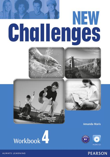 New Challenges 4 Workbook (with Audio CD)