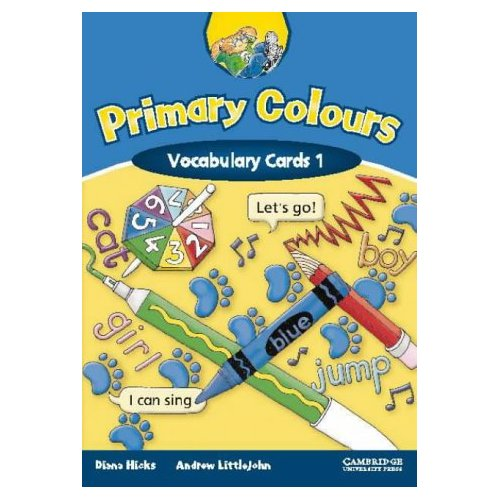 Primary Colours 1 Vocabulary Cards