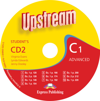 Upstream Advanced C1 Revised Edition Student's Audio CD (CD2)