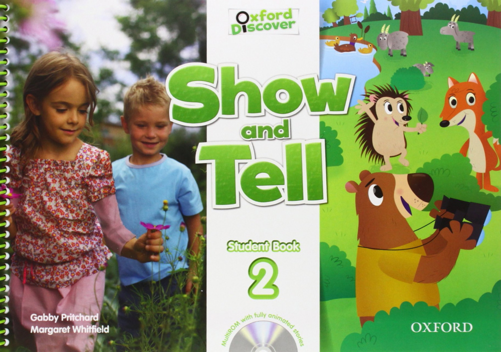 Show and Tell Level 2 Student Book and Multi-ROM Pack