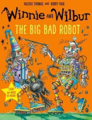 Winnie and Wilbur: The Big Bad Robot (Paperback + CD)