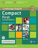 Compact First Second Edition Student's Book with Answers with CD-ROM with Testbank