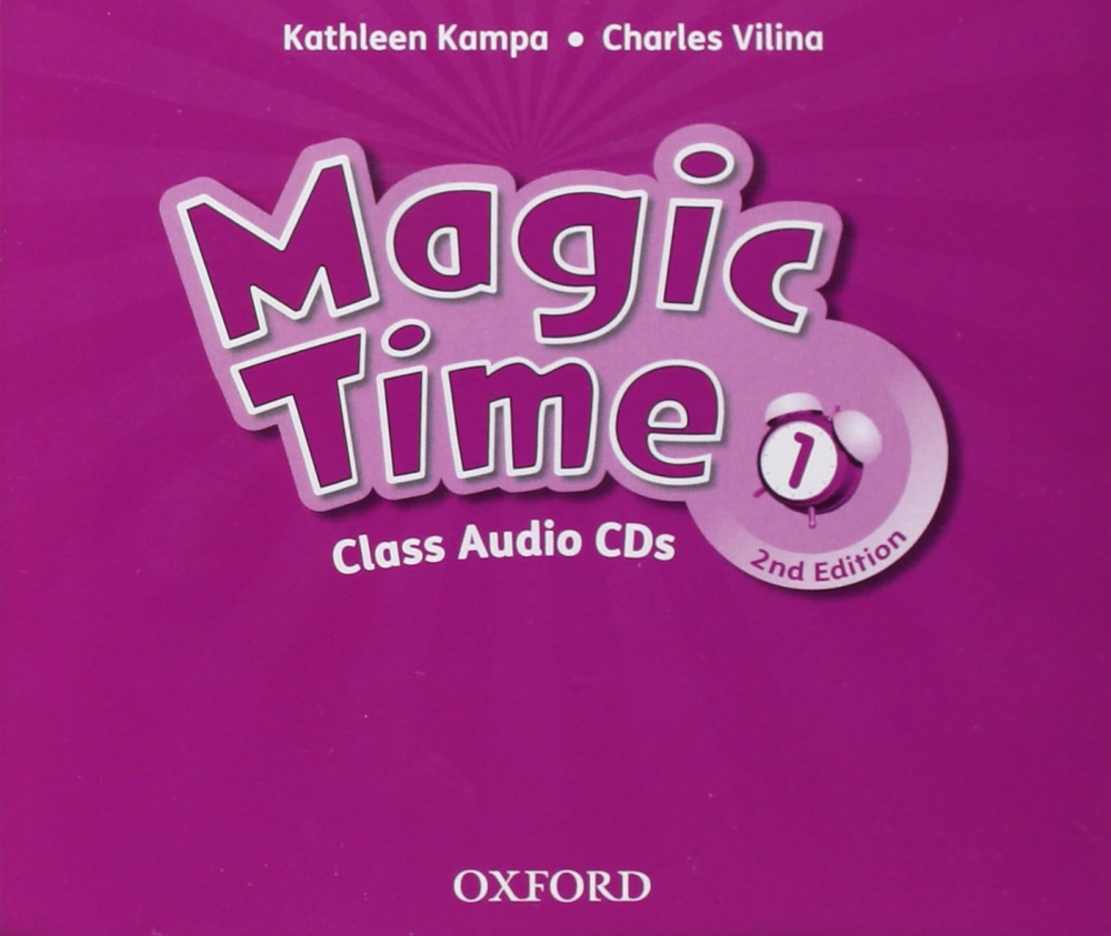 Magic Time (Second Edition) 1 Class Audio CD