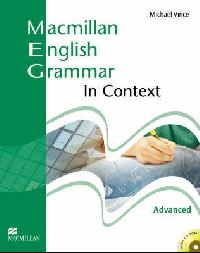 Macmillan English Grammar In Context Advanced Student's Book (no Key) CD-ROM Pack