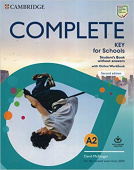 Complete Key for Schools 2nd Edition Student's Book without answers with Online Workbook