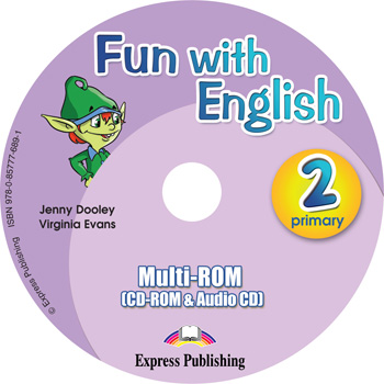 Fun with English 2. Primary. multi-ROM (CD-ROM & Audio CD )