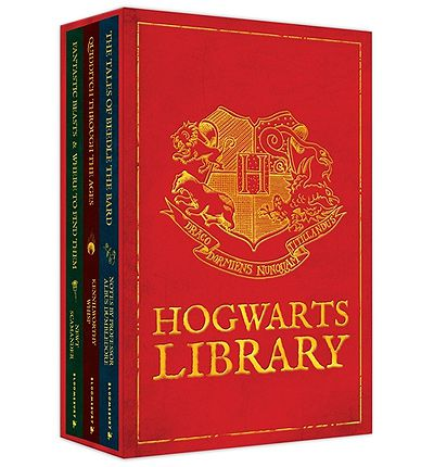 The Hogwarts Library Boxed Set - Hardback
