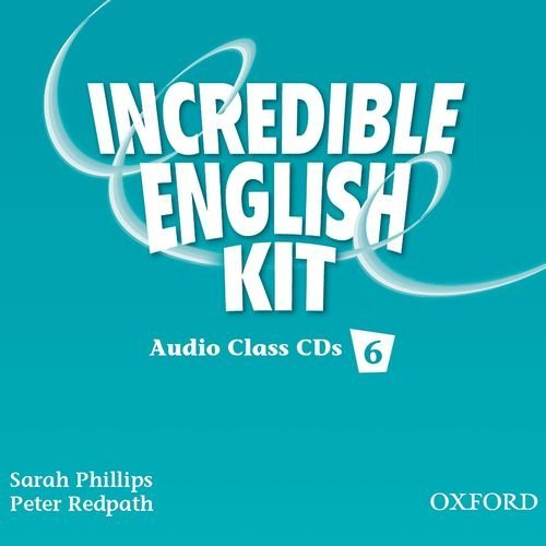 Incredible English 6 Class Audio CD