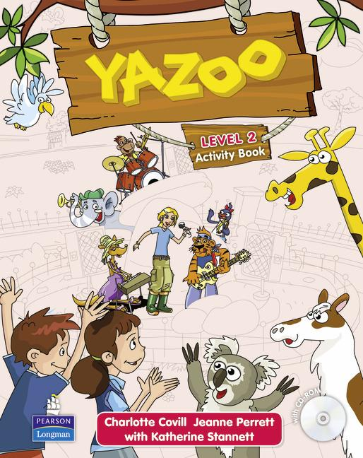 Yazoo 2 Activity Book (with CD-ROM)