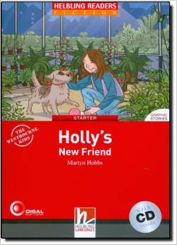 Red Series  Graphic Fiction Level 1: Holly's New Friend + CD