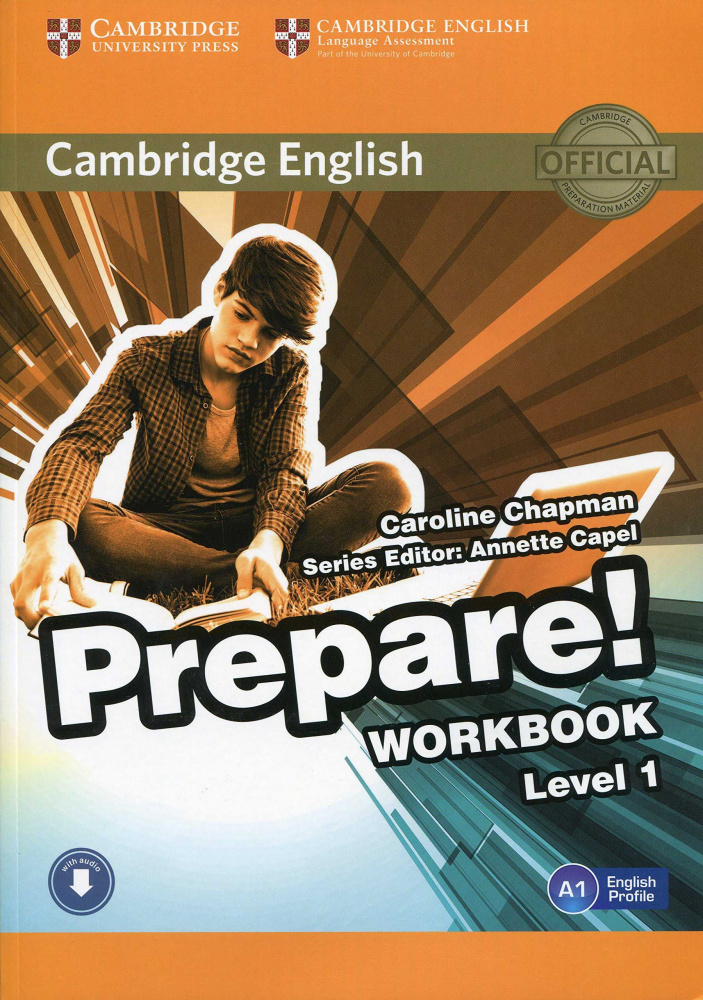 Cambridge English Prepare! Level 1 Workbook with Audio-online