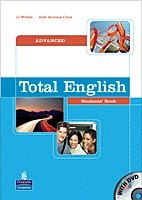 Total English Advanced Student's Book with DVD