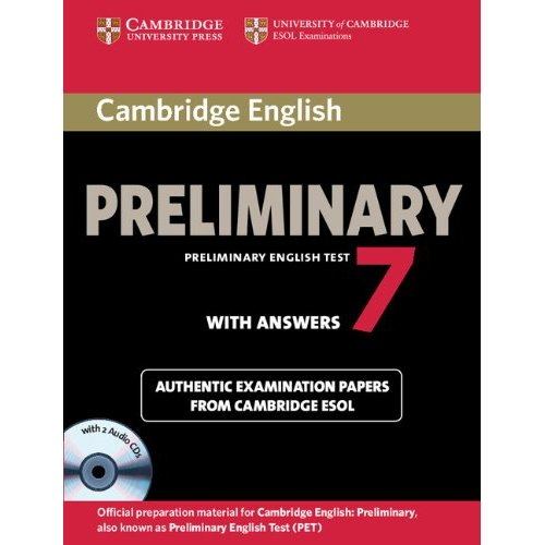 Cambridge English Preliminary 7 Student's Book Self-study Pack