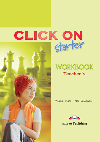 Click On Starter Workbook (Teacher's - overprinted)