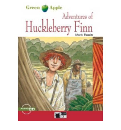 Green Apple Step2:  Adventures of Huckleberry Finn with Audio CD