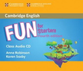 Fun for Starters 4th Edition Class Audio CD (Лицензия)