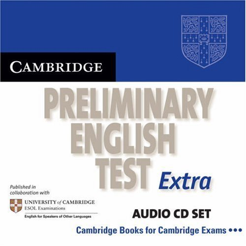 Cambridge Preliminary English Test Extra Audio CD Set (2 CDs)