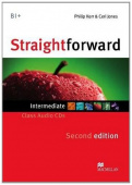 Straightforward (Second Edition) Intermediate Class Audio CDx2