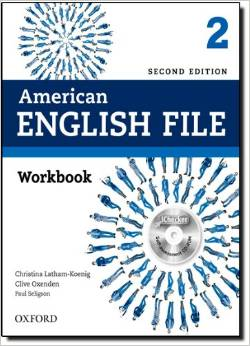 American English File Second edition Level 2 Workbook with iChecker