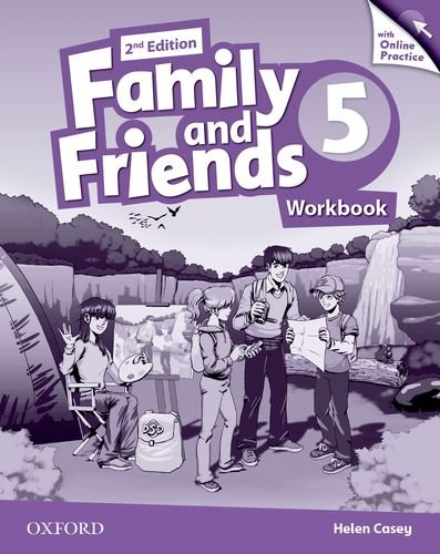 Family and Friends Second Edition 5 Workbook & Online Skills Practice Pack