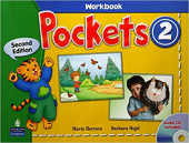 Pockets  Second Edition 2 Workbook with Audio CD