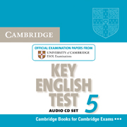 Cambridge Key English Test 5 Audio CD (Лицензия)