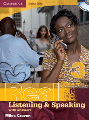 Cambridge English Skills: Real Listening & Speaking Level 3 Book with answers and Audio CDs