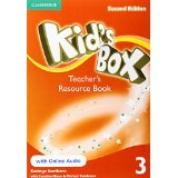 Kid's Box Second Edition 3 Teacher's Resource Book with Online Audio