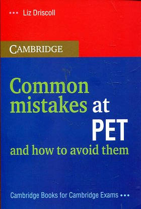 Common mistakes at PET and how to avoid them