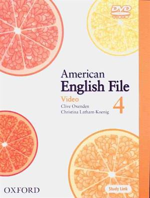 American English File 4 DVD
