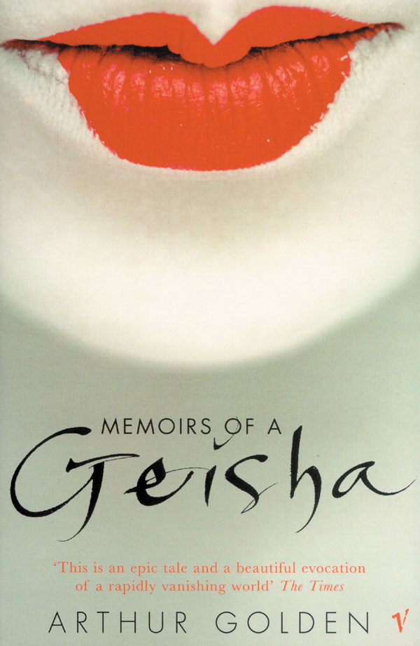 Golden Arthur.  Memoirs of a Geisha Uk