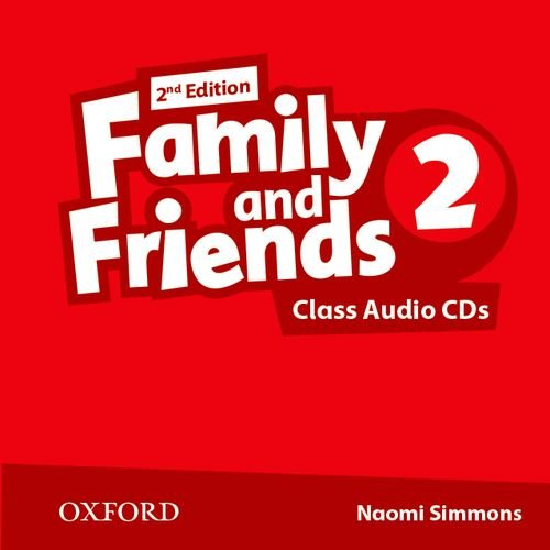 Family and Friends Second Edition 2 Class Audio CD's (2)