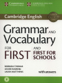 Grammar and Vocabulary for First and First for Schools (for revised exam 2015)