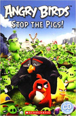 Popcorn Readers: Level 2 Angry Birds: Stop the Pigs! + Audio CD