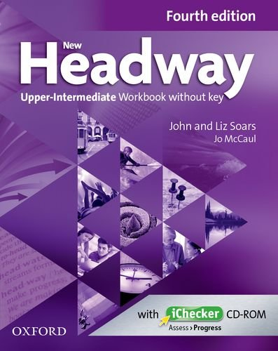 New Headway Upper-intermediate Fourth Edition Workbook + iChecker without Key
