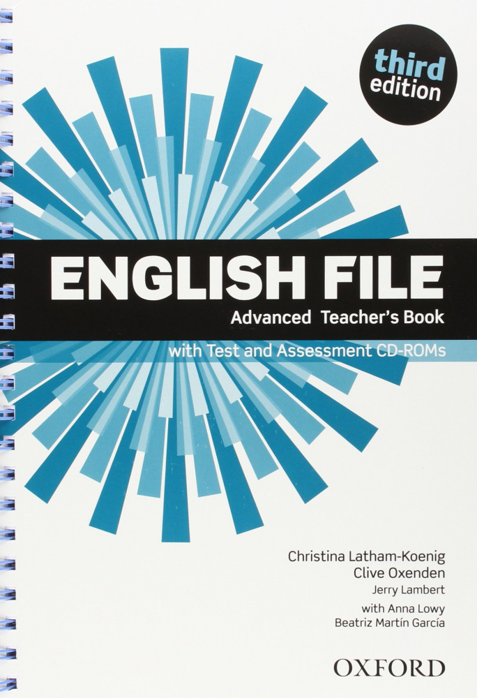 English File Third Edition Advanced Teacher's Book with Test and Assessment CD-ROM