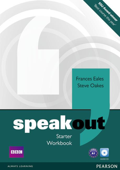 Speakout Starter Workbook without key and Audio CD
