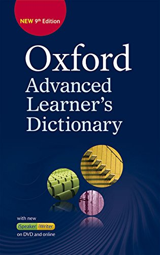 Oxford Advanced Learner's Dictionary (9th Edition) Hardback + DVD + Premium Online Access Code