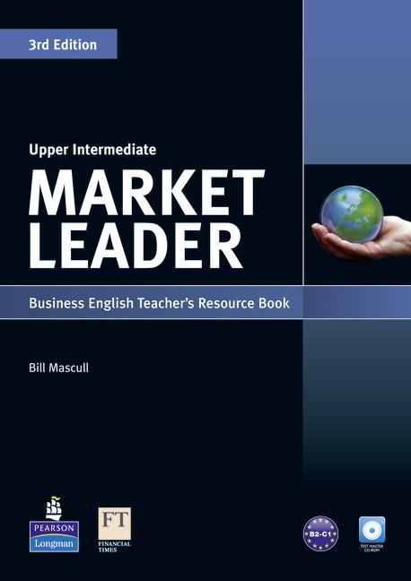 Market Leader 3rd Edition Upper-Intermediate Teacher's Book with Test Master CD-ROM