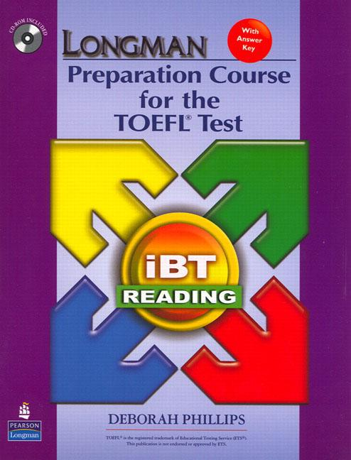 Longman Preparation Course for the TOEFL® Test : ibT (2nd Edition) Reading Book with CD-ROM