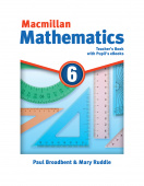 Macmillan Mathematics 6 Teacher's Book with Pupil's eBooks