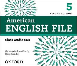 American English File Second edition Level 5 Class Audio CD (4)