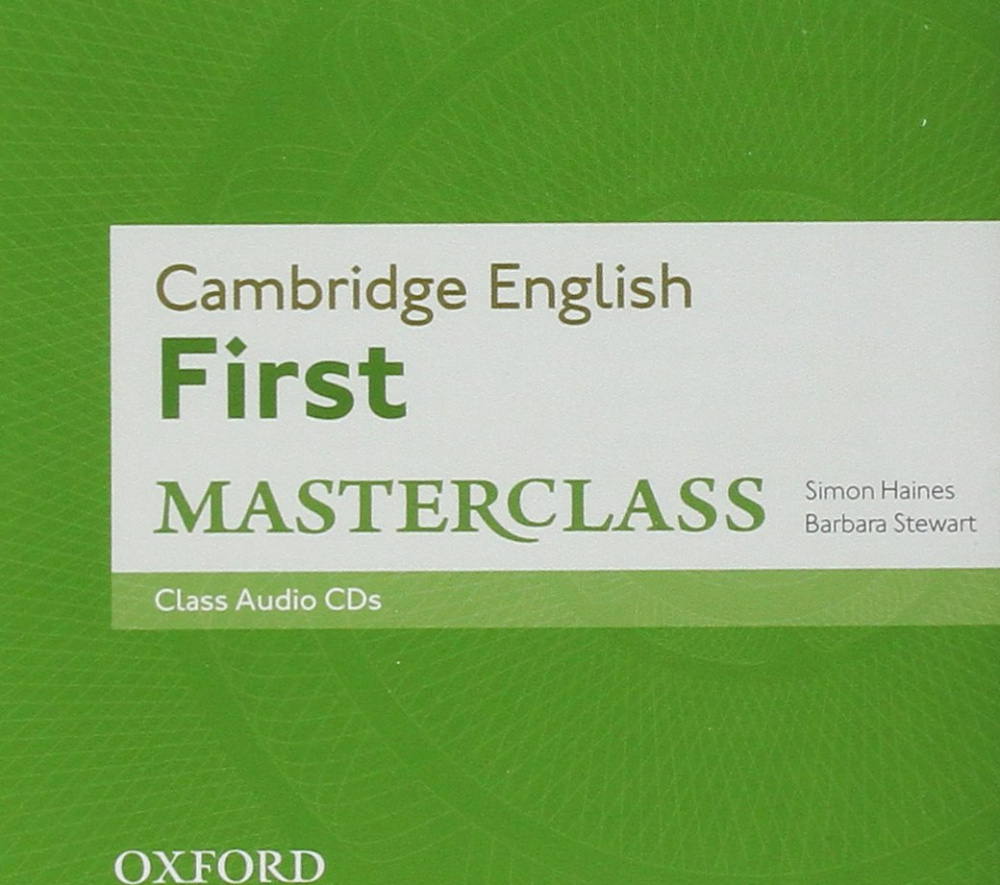 Cambridge English First Masterclass Class Audio CDs (For 2015)