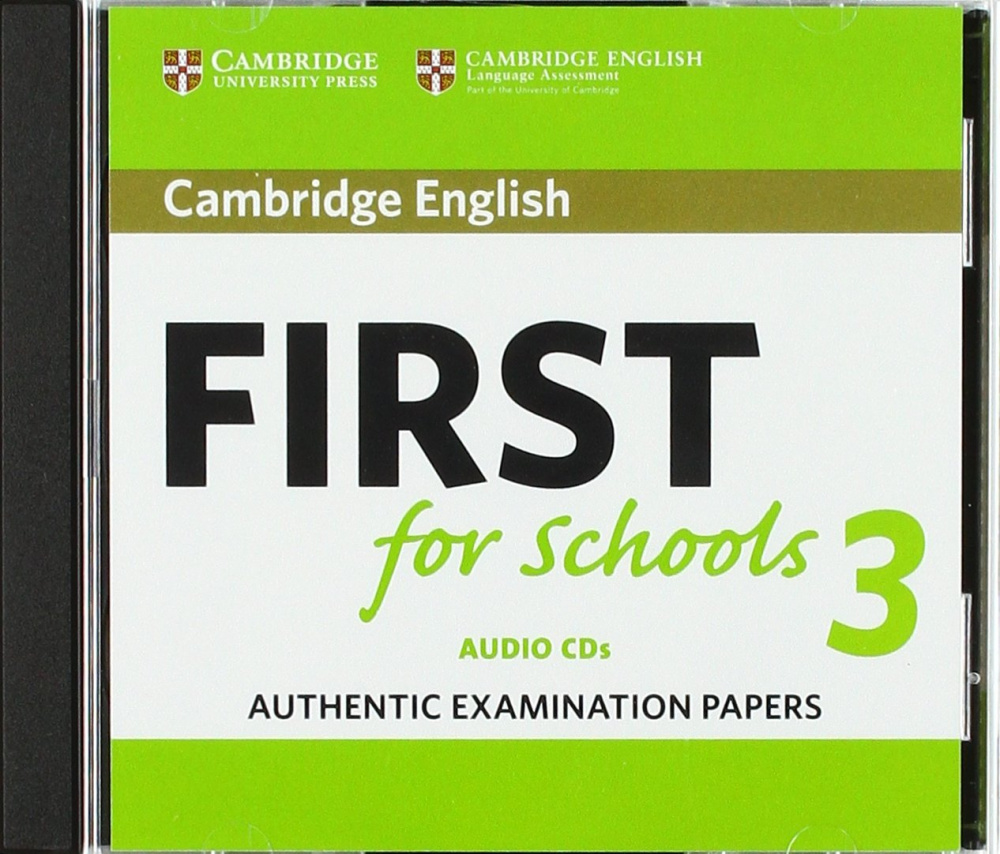 Cambridge English First for Schools 3 Audio CDs
