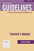 Cambridge Academic Writing Collection: Guidelines Teacher's Manual: A Cross-Cultural Reading/Writing Text