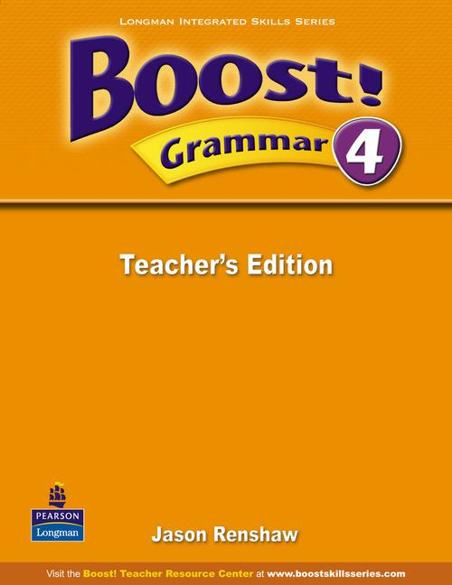 Boost Grammar 4 Teacher's Edition