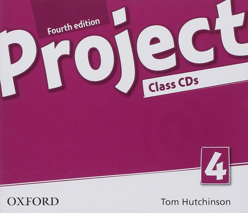 Project Fourth Edition 4 Class Audio CDs (4)