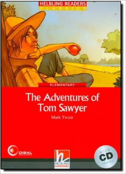 Red Series Classics Level 3: The Adventures of Tom Sawyer + CD