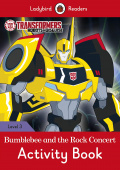 Ladybird: Transformers: Bumblebee and the Rock Concert Activity Book