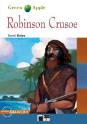 Green Apple Step1: Robinson Crusoe with CD-ROM